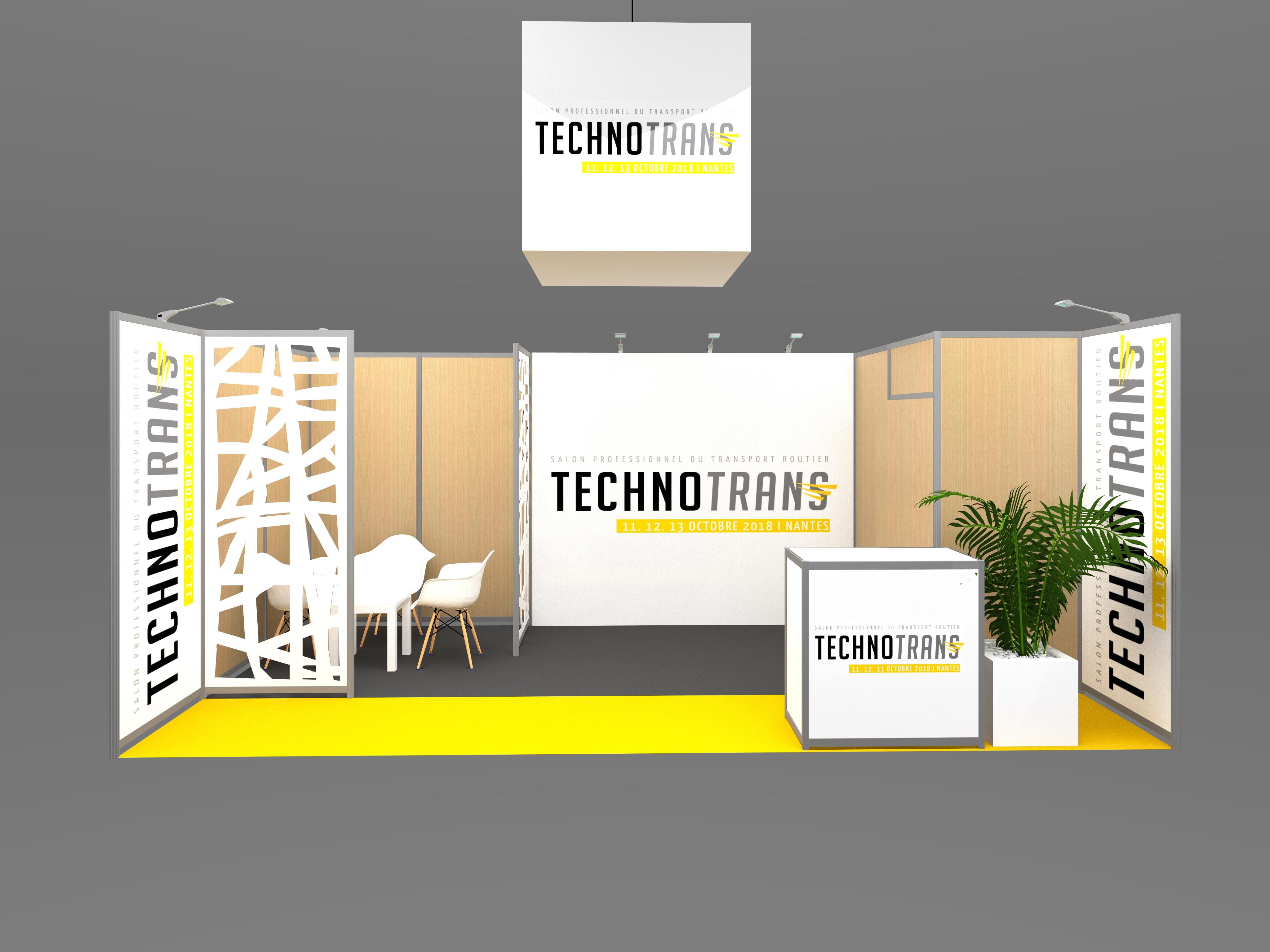 Stands design am nagement d 39 espaces v nementiel sur mesure - Salon professionnel en france ...